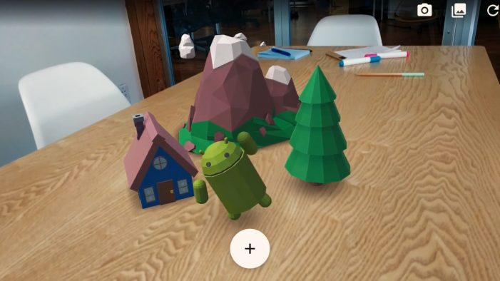 Google unveils its response to Apple's ARKit augmented reality platform