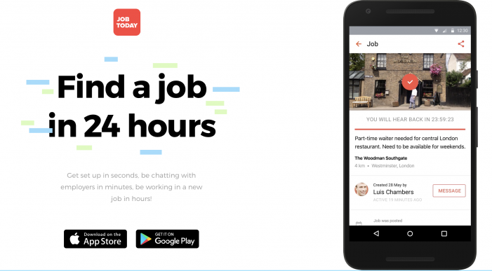 Recruitment app Job Today links up with crowdsourcing video platform Userfarm