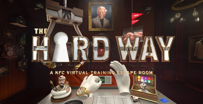 "KFC Creates Virtual World To Train Its Real-World Cooks ""The Hard Way"""