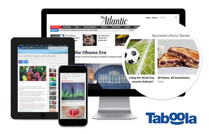 Taboola teams with AdRoll for programmatic native