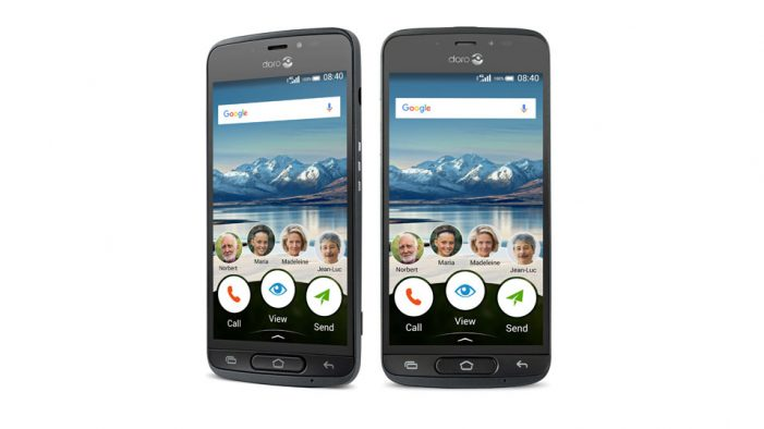 Doro unveils 8040 smartphone for seniors