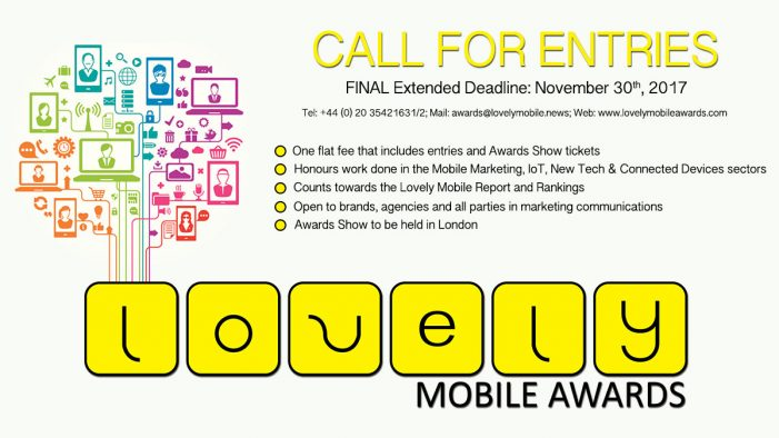 The Lovely Mobile Awards Are Now Open For Entries!