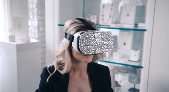 Mastercard and Swarovski team to launch a virtual reality shopping app