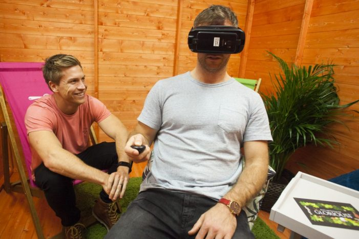 GLORIOUS! Soups stirs up calm at 'wellness shed' VR pop-up