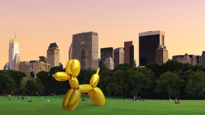 Snapchat teams with artist Jeff Koons to place AR sculptures around the world