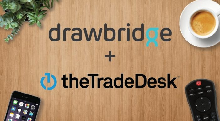 Drawbridge extends cross-device partnership with The Trade Desk to address TV