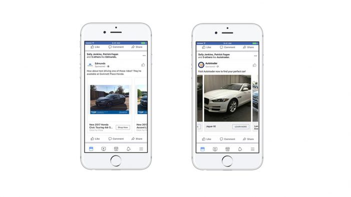 Facebook Launches Dynamic Ads for Auto as Mobile Starts to 'Replace the Showroom'