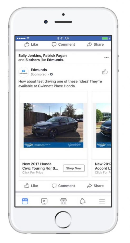Facebook Launches Dynamic Ads For Auto As Mobile Starts To Replace