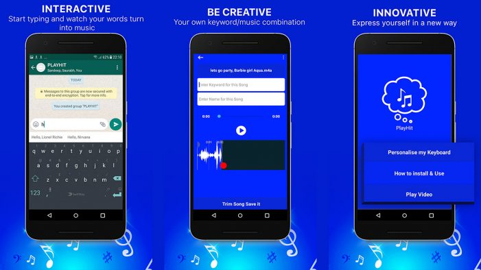 Introducing the free app that turns your favourite songs and lyrics into instant messages