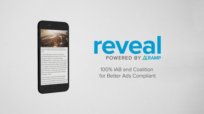 Receptiv Partners with Top Publishers to Launch Reveal, a Proprietary Out-Stream Video Product