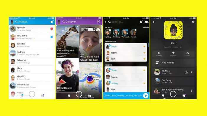 Snapchat pilots personalised redesign separating friends from publishers