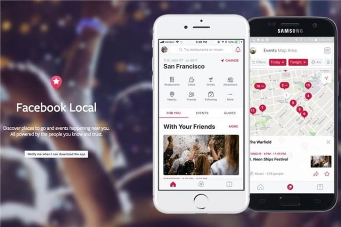 Facebook takes on Yelp and Foursquare with Facebook Local