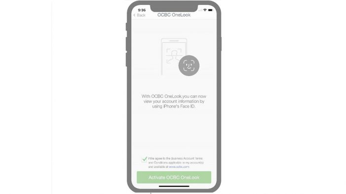 OCBC Bank launches Face ID for customers to access consumer and business banking apps