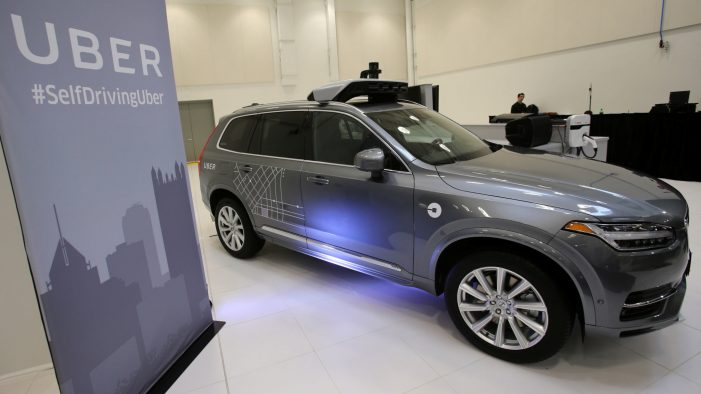 Uber to buy 24,000 driverless cars from Volvo