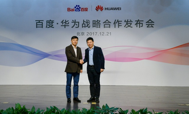 Huawei strengthens its fight with Apple after forming AI alliance with Baidu