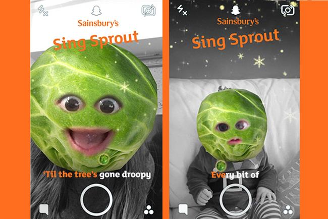 Sainsbury's Launch #SINGSPROUT Digital Activation by AnalogFolk