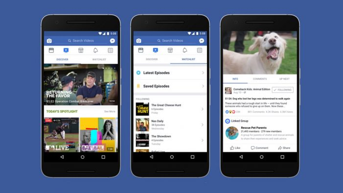 Facebook updates ad policy to prioritise video
