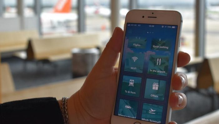Gatwick launches app to help passengers find their way around and make their flights