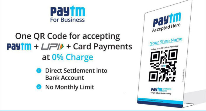 Paytm makes push for QR code as primary mode for digital payments in India