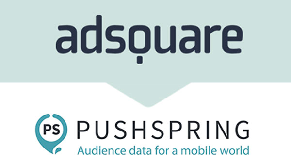 adsquare teams up with PushSpring to bring deterministic mobile app data at scale