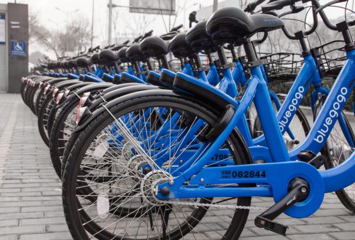 Didi Chuxing launches bike-sharing service in China