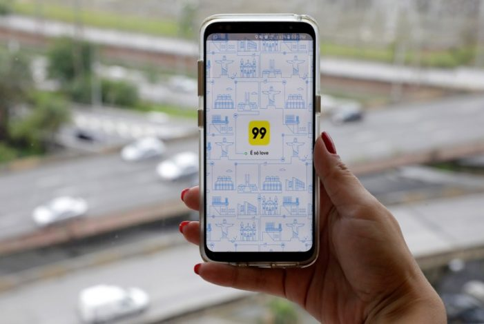 Didi Chuxing buys control of 99, Brazil's leading ride-hail app