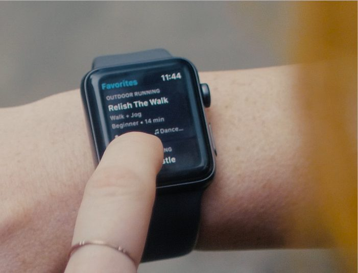 Aaptiv workout app launches on Apple Watch