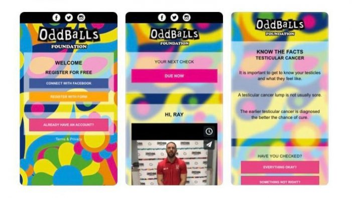 Testicular cancer charity launches app encouraging men to check themselves