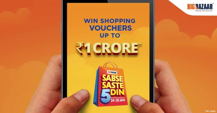 Big Bazaar launches mobile game to promote mega shopping experience 'Sabse Saste 5 Din'