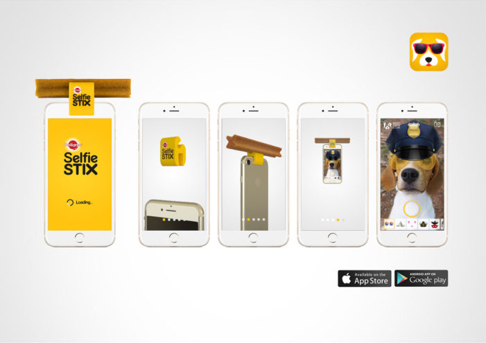 Pedigree and Colenso BBDO Make Selfies Even More Fun For Dogs With The SelfieSTIX App