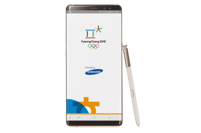 Samsung releases the official 2018 Winter Olympics app