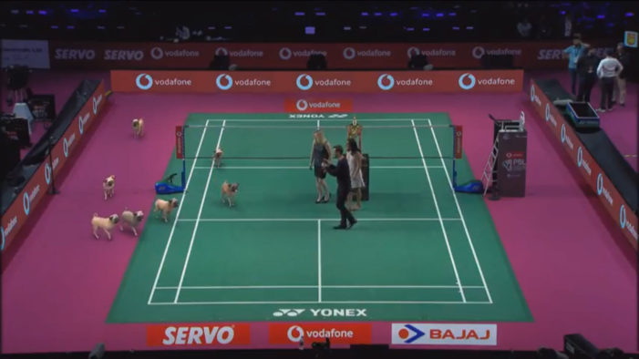 Vodafone Pug delights Premier Badminton League viewers with Augmented Reality