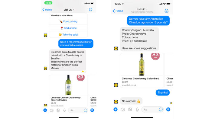 Lidl UK Launches AI Wine ChatBot Giving Customers Expert Wine Knowledge & Recommendations