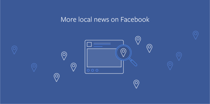 Facebook will prioritise local stories in your News Feed