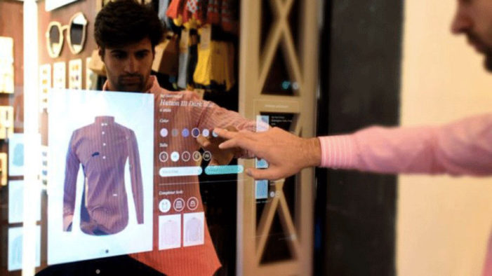 Vodafone teams with Mango for digital fitting rooms
