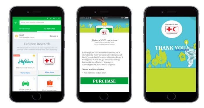 Grab joins hands with Red Cross to support those in need across Southeast Asia