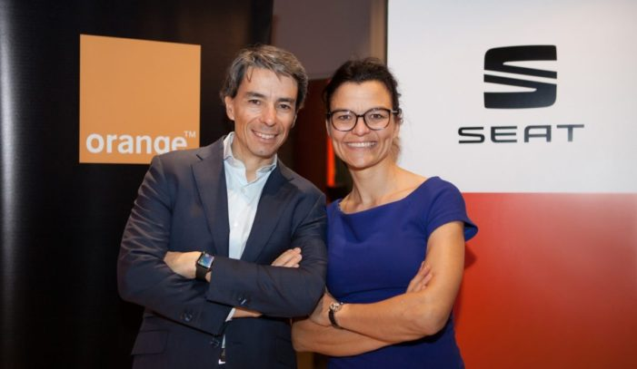 SEAT and Orange join forces to promote the development and use of connected cars