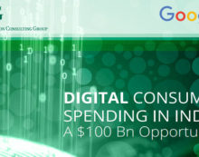 Digital consumer spending in India is a $100 Billion opportunity, according to the Boston Consulting Group