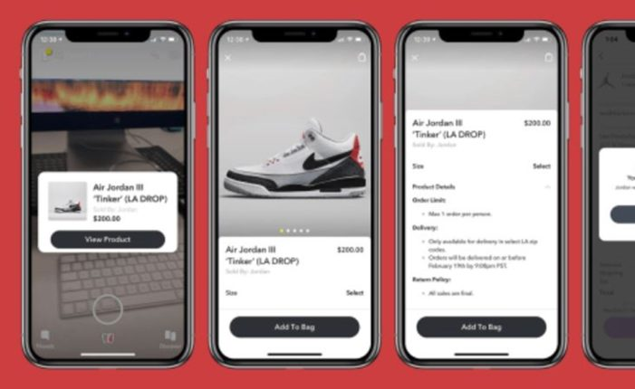Nike's Air Jordan pre-release on Snapchat showcased the app's e-commerce potential