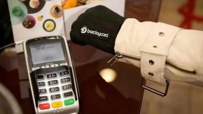 Mobile and wearable payments are surging in the UK, according to Barclaycard