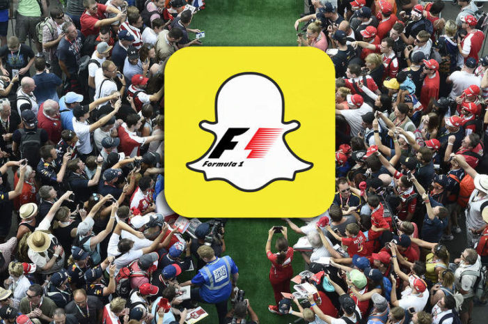 Snapchat and Formula 1 announce multi-year extension to their global partnership