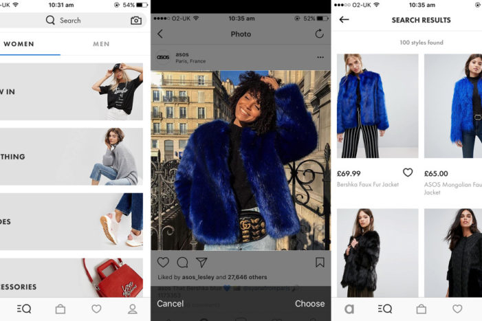 ASOS 'Style Match' visual recognition tool rolls out worldwide