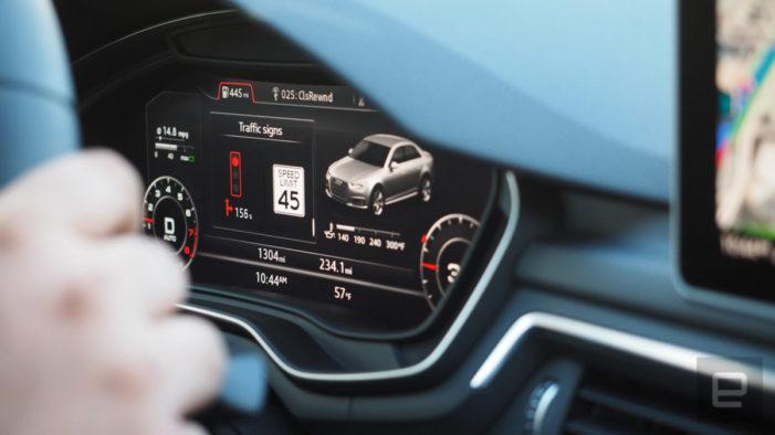 Audi's traffic light countdown tech comes to Washington DC