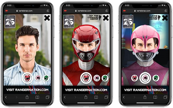 Power Rangers taps augmented reality for ad campaign