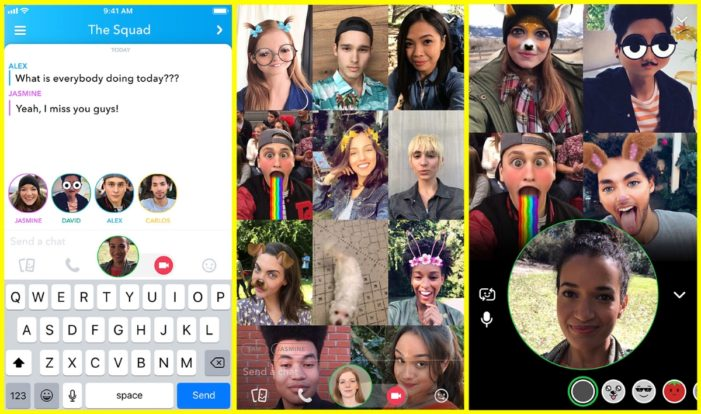 Snapchat introduces group video calls and friend tagging