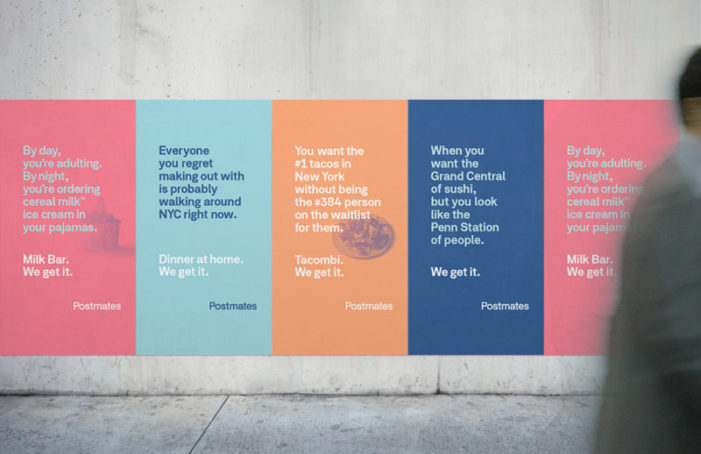 Postmates takes its 'We Get It' 360 brand campaign by 180LA to New York City