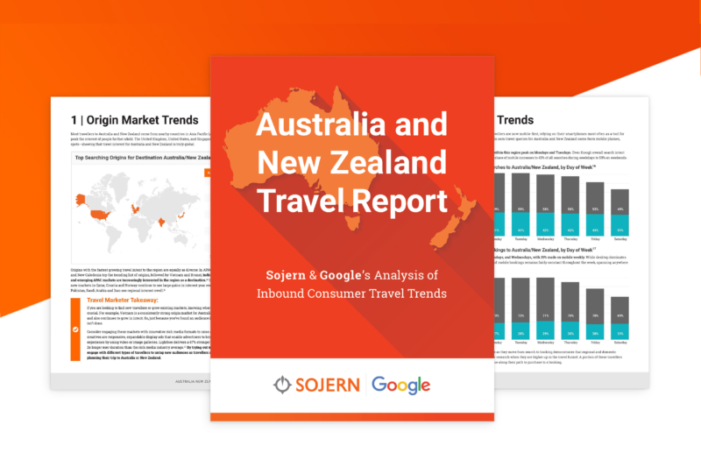 Online searches by travellers indicate the need for more mobile marketing, according to Sojern