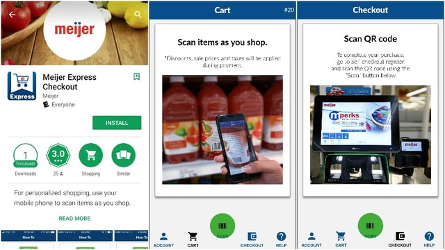Meijer expands 'Shop & Scan' mobile checkout app