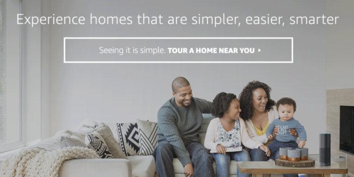 Amazon transforms model houses into Alexa-powered smart homes