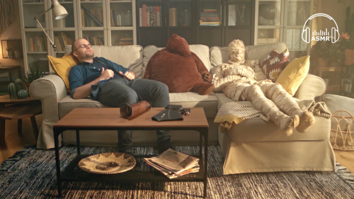 IKEA and Saatchi & Saatchi IS encourage us to unwind with the first ASMR campaign in Poland